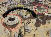 《绝地求生》沙漠地图拳击馆双圆盘打法