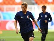 日本队今日首战哥伦比亚 赛前热身求突破