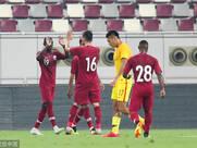热身赛-国足0-1卡塔尔 颜骏凌多次救险