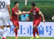 中超-武磊大四喜 上港客场5-2逆转富力