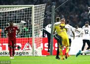 德国杯-海帅告别战莱万破门 拜仁1-3法兰克福失冠