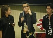 """北京路演  欧豪""""摸头杀""""感动粉丝"""