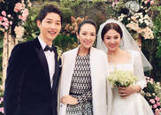 视频:章子怡参加双宋婚礼穿白衣抢先晒照引争议