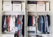 2㎡衣柜收纳200件衣服!让你怦然心动的收纳法