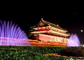 北京夜景照明按重大节日等级开启 璀璨北京如梦如幻