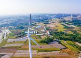 山东一次性投产最大风电项目在西海岸新区并网发电