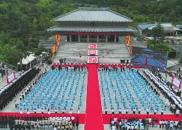 孔学堂落成5周年 千人共祭先师孔子(图)