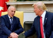 特朗普考虑本月解雇白宫幕僚长 且不再任命新人