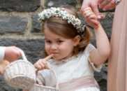 哈里王子大婚 年龄最小伴娘只有2岁