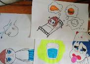 修水护士手绘漫画 方便与重症患者温馨交流