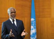 安南2009年呼吁汲取金融危机教训 以合作解决经济问题