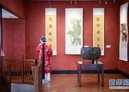 【组图】国学泰斗饶宗颐在巴黎举行荷花书画展