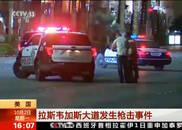 央视视频:拉斯维加斯大道遭枪击 2死24伤