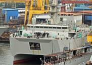 中国海军一神秘新舰试航,将成潜艇克星