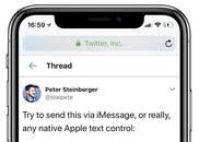 苹果正在修复一漏洞 可导致设备崩溃!