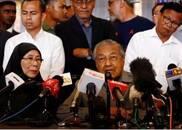 马哈蒂尔:纳吉布时代已终结,成立新政府不能再拖延