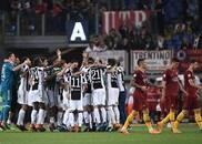 意甲-纳因戈兰染红离场 尤文0-0罗马夺取联赛七连冠