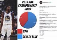 美媒预测下赛季NBA总冠军 总共两选项还都是勇士
