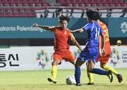 亚运会-中国女足1-0中国台北 决赛将上演中日大决战!