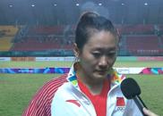 女足队长痛哭!哽咽感谢球迷 一特质值得男足学习