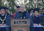 库克杜克大学毕业演讲:切忌安于现状 敢于不同凡想