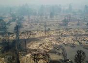 加州大火平均3秒烧掉一个足球场