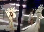 视频-维秘独家:奚梦瑶摔倒全过程 获同伴搀扶起身