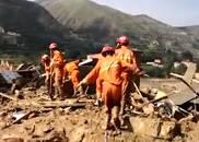 甘肃东乡暴洪灾害:房屋夷为平地 淤泥中搜寻生命
