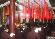 江西黄龙禅寺街采:希望我们个个都是菩萨