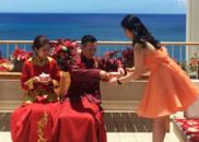 安以轩夏威夷喜庆出嫁 闺蜜团出难题老公迎刃而解