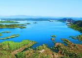 北京密云水库蓄水超17亿立方米 7个库中岛没入水下