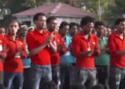 震撼!4千埃塞俄比亚员工合唱《团结就是力量》