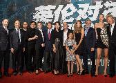 《英伦对决》首映发布会 成龙:还能再打20年!