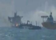 长江口事故救援现场视频曝光