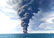 桑吉轮沉没超一周 油污范围扩大近6倍超300平方公里