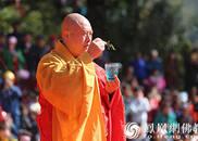 安徽合肥开福禅寺方丈圆藏法师给您拜年