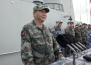 中央军委在南海海域海上阅兵 习近平检阅部队