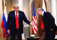 """美媒不满特朗普会见普京的表现 称是""""最丢脸的表演"""""""