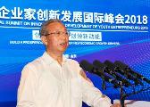 青年企业家创新发展国际峰会2018开幕 刘家义发出邀请