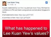 公开信全文:《李光耀的价值观哪里去了?》