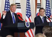 特朗普:美国有最好军备 韩国将花几十亿来买