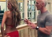 维密超模是如何训练臀部的?居然是这样进行
