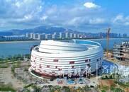 青岛灵山湾东方影都大剧院竣工 2017年12月交付使用
