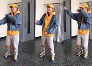 视频:PG ONE未受风波影响 练习舞蹈活力十足心态好