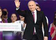 俄大选将至 民调显示普京支持率领先第二名10倍