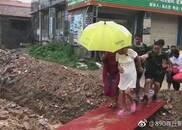 暴雨中孕妇临产在即 商丘消防来接力