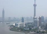 韩正:上海PM2.5年均浓度降至45微克/立方米
