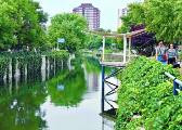 北京:违建拆后变公园 转河将现1.5公里绿色长廊