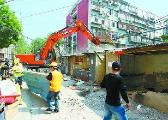 前5月北京市疏解提升52市场 全年拆违任务完成过半