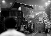 东三环主路开始大修 主要工序全部夜间施工